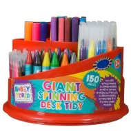 Hobby World Twirling Stationery Set 150pc