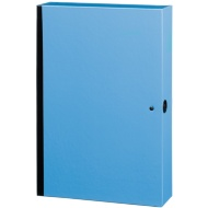 Bright Box File - Blue