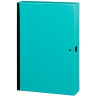 Bright Box File - Teal