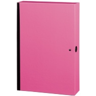 Bright Box File - Pink