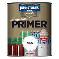 Johnstone's Paint Any Surface Primer - White 750ml
