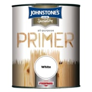 Johnstone's Paint All Purpose Primer - White 750ml
