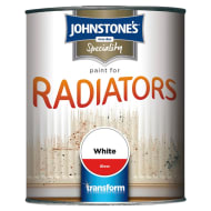 Johnstone's Paint For Radiators - White Gloss 750ml