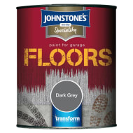 Johnstone's Paint For Garage Floors - Dark Grey 2.5L