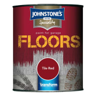 Johnstone's Paint For Garage Floors - Tile Red 2.5L