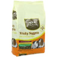 Country Vale Fruity Nuggets for Guinea Pigs 1.5kg