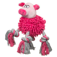 Farmyard Animals Rope Dog Toy - Pig