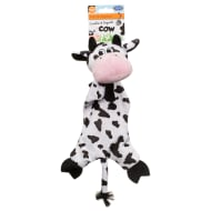 Farmyard Animals Dog Toy - Crinkle & Squeak Cow