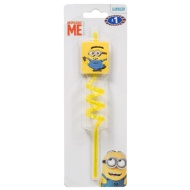 Despicable Me Minions Swirly Straw