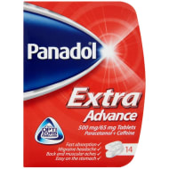 Panadol Extra Advance Tablets 14pk