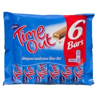 Time Out 6 x 16g Chocolate Bars