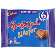 Time Out Chocolate Bars 6pk