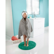 Kids Hooded Beach & Bath Robe - Shark