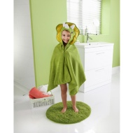 Kids Hooded Beach & Bath Robe - Dinosaur