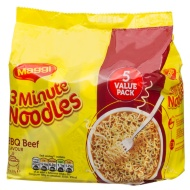 Maggi 3 Minute Noodles BBQ Beef Flavour 5 x 59g