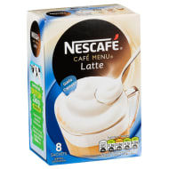 Nescafe Cafe Menu Latte 8 Sachets 156g