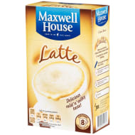 Maxwell House Latte 8pk