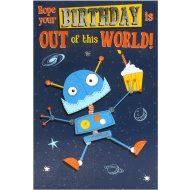 Out of this World - Birthday Card
