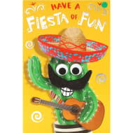 Fiesta of Fun - Birthday Card