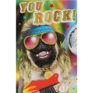 You Rock! - Birthday Card