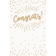 Congrats - Greetings Card