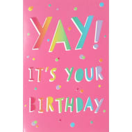 Yay! - Birthday Card