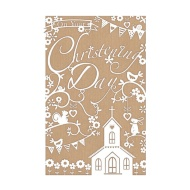 On Your Christening Day - Greetings Card