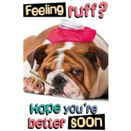 Feeling Ruff - Greeting Card