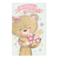 Millie Bear Birthday Card