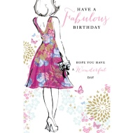 Have a Fabulous Birthday - Birthday Card