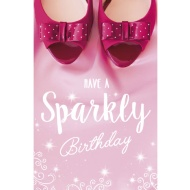 Have a Sparkly Birthday - Birthday Card