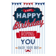 Enjoy Your Day Birthday Card