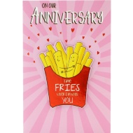 Time Fries - Anniversary Card