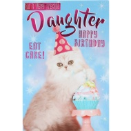 Very Special Daughter - Birthday Card