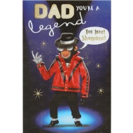 Dad You're a Legend - Birthday Card