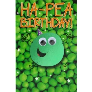 Ha-Pea Birthday - Birthday Card