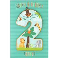 2 Today Jungle - Birthday Card