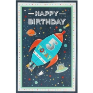 5 Today Space - Birthday Card