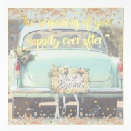 Beginning of Your Happily Ever After - Wedding Card