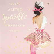 A Little Sparkle - Birthday Card