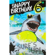 Surf's Up - Birthday Card