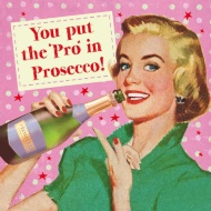 Joke Prosecco Birthday Card