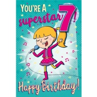 You're a Superstar - Birthday Card