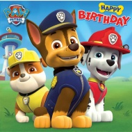 Happy Birthday - Paw Patrol - Birthday Card