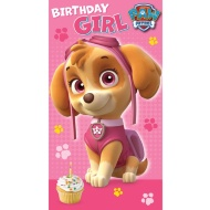 Paw Patrol Birthday Card