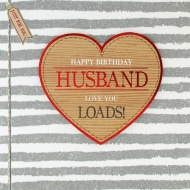 Happy Birthday Husband - Birthday Card