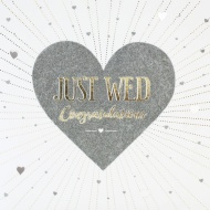 Just Wed - Wedding Card