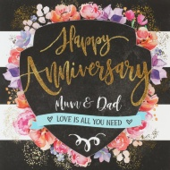 Mum & Dad - Anniversary Card