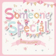 To Someone Special - Birthday Card