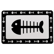 Pet Placemat - Fish Bone